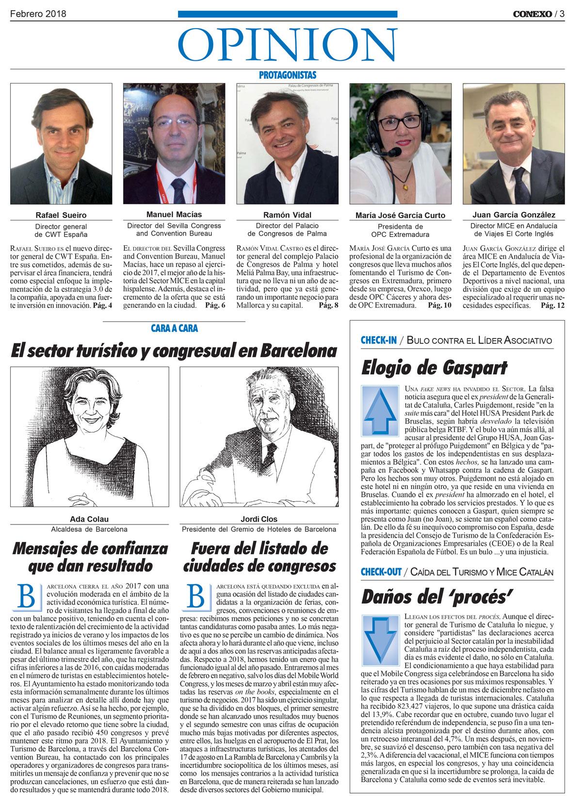Entrevista a María José García Curto, presidenta de OPC Extremadura,